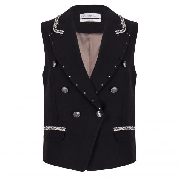 Bass Waistcoat – Black