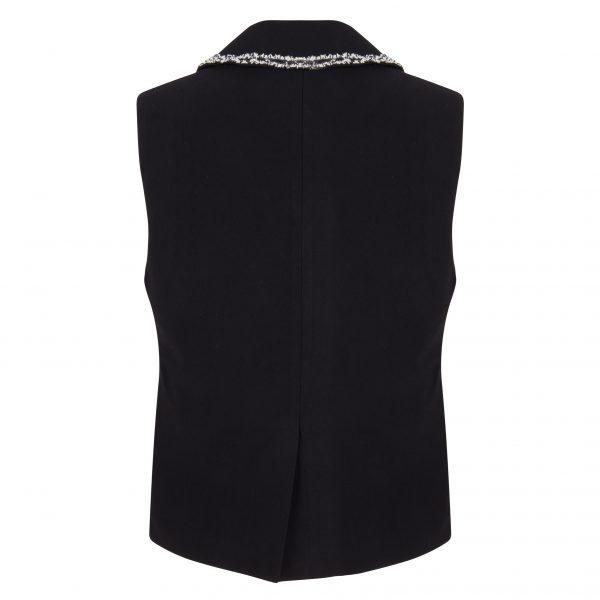 Bass Waistcoat – Black Back