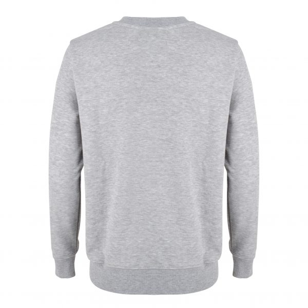Gossip Sweat – Grey Melange Back