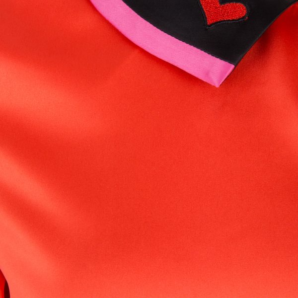 Vanessa Top – Flame Scarlett Detail