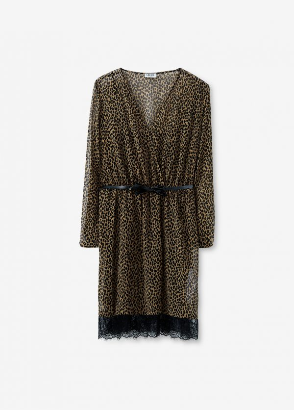 liujo-dress-jurk-leopard-front