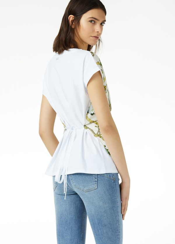 liujo-white-chain-tshirt-back