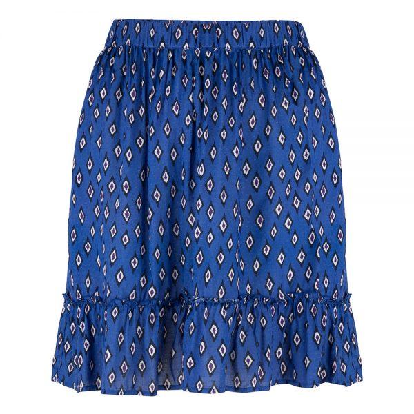 Wanderlust-Sahara-Skirt-Ikat-Print-Front