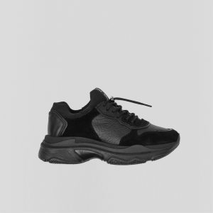 baisley-zwart-leren-sneaker