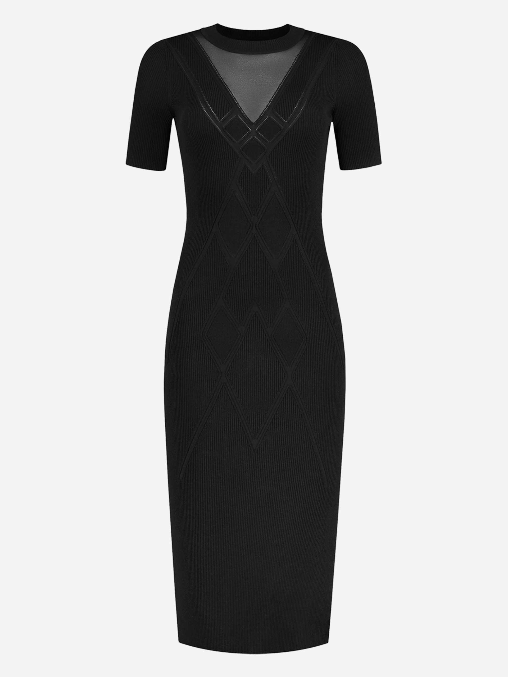 Kate Moss X Nikkie Gigi Dress in Zwart